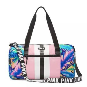 Victoria's Secret PINK mini duffel duffle Daisy